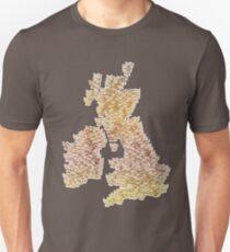 CATography- UK & Ireland (colour) T-Shirt