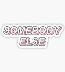 The 1975 - somebody else Sticker