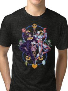 Jojo's Bizarre Adventure - Josuke & Crazy Diamond Logo Tri-blend T-Shirt