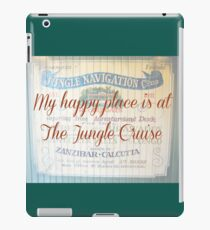 My Happy Place is at The Jungle Cruise iPad Case/Skin
