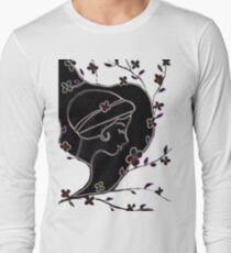 Young girl in a hat T-Shirt