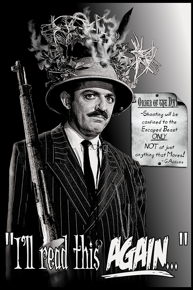 """Gomez Addams-""""Order of the Day"""" by torg"""
