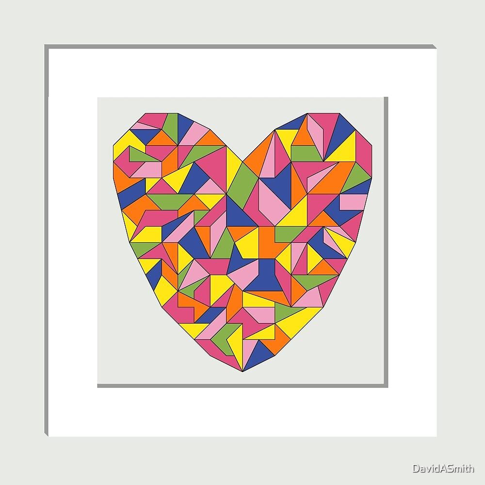 Framed Heart by DavidASmith