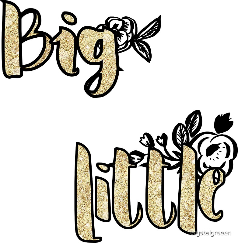 Big Little: Stickers | Redbubble
