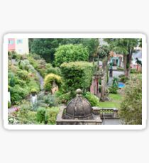 UK - Wales - Portmeirion - Home of the Village in 2007 Sticker