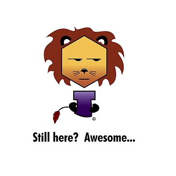 Yew Lion - Still Here? Awesome by Keith-mccrea