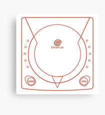 Dreamcast Tshirt Canvas Print