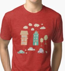Childs street Tri-blend T-Shirt