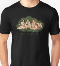Hula Girls Wishing You Were Here T-Shirt