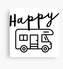 Happy Camper (RV) Canvas Print