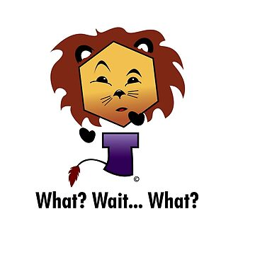 Yew Lion - What? Wait... What?! by Keith-mccrea