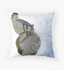 Biddy's House - the Crossroads Pub, Glencolmcille(Sky Out) Throw Pillow