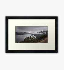 Mountain lake 2 gerez national park portugal Framed Print