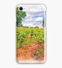 Vineyard Roses iPhone Case/Skin