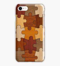 Puzzle Wood iPhone Case/Skin