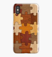 Puzzle Wood iPhone Case/Skin
