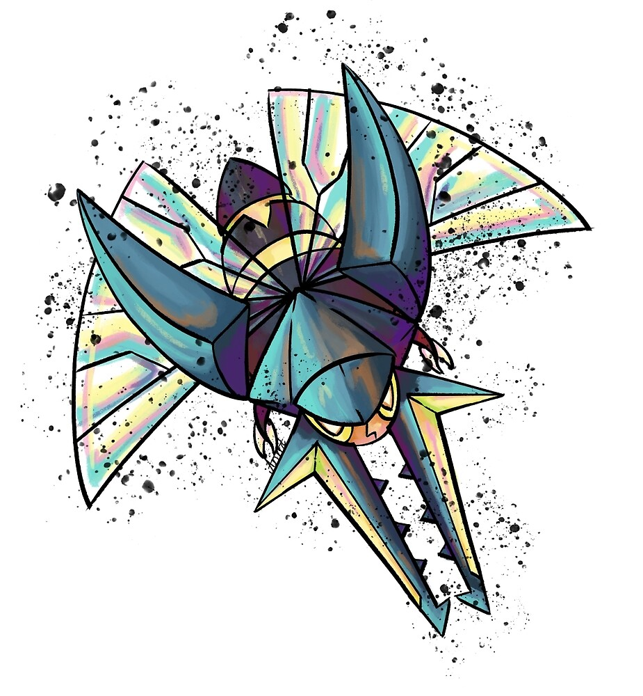 Vikavolt Colorstudy by Cosmic-Creates