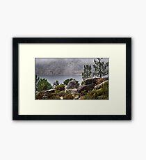 Mountain lake 3 gerez portugal national park Framed Print