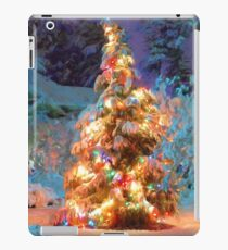 Snowy Christmas Tree iPad Case/Skin