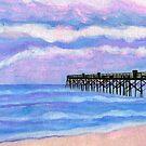 Flagler Beach Pier by Roz Abellera Art Gallery