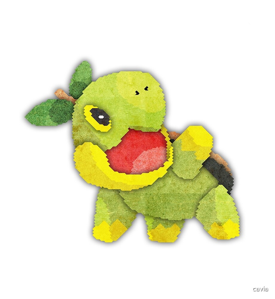 pokemon - turtwig by cavia