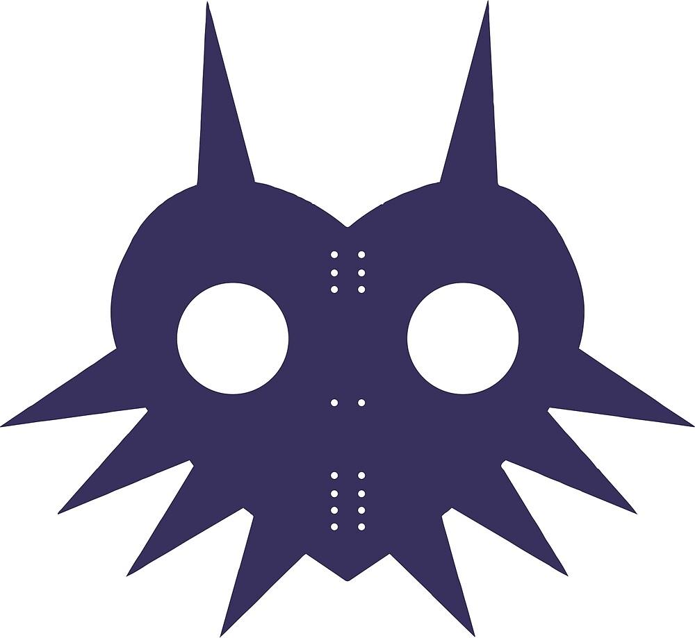 Flat Majora's Mask by SpacePrinter