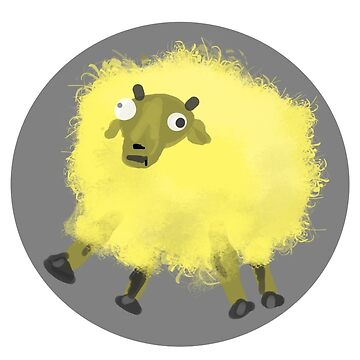 The Cosmic-Creates Yellow Sheep by Cosmic-Creates