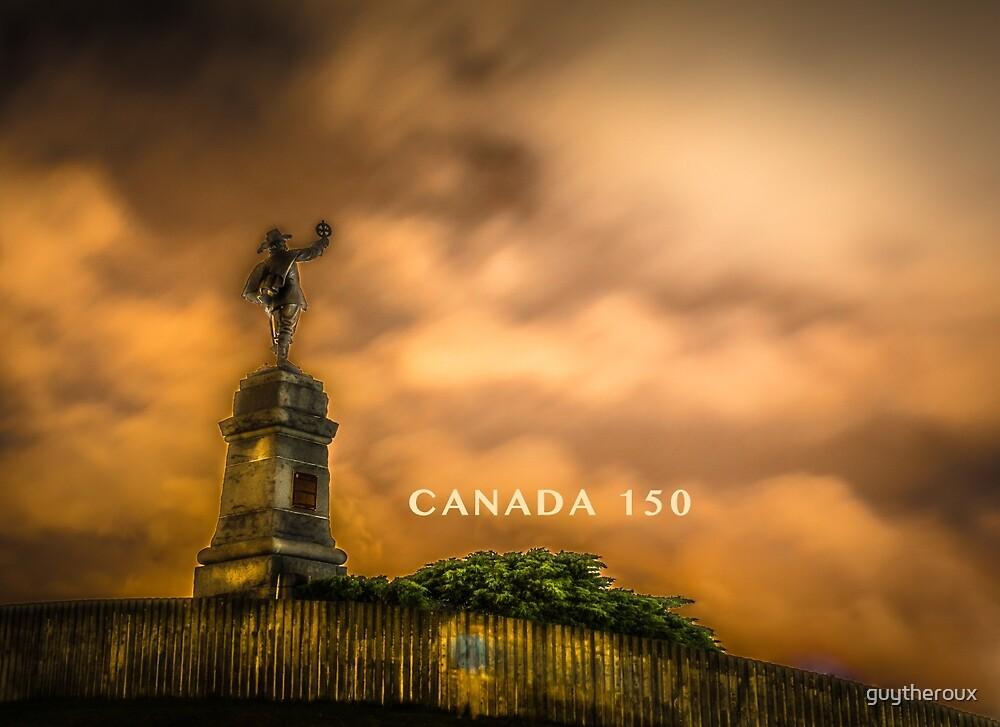 Statut Champlain Statue by guytheroux