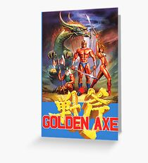 Golden Axe Greeting Card