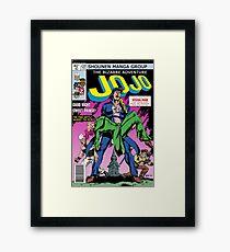 Jojo XMen/Crisis homage Framed Print