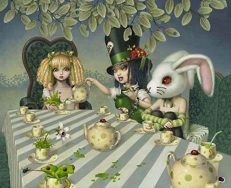 The Tea Party by GloomyBunny