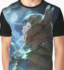 Horo the Wise Wolf Graphic T-Shirt