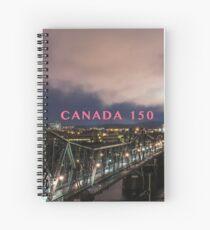 Pont Alexandra Bridge Gatineau Spiral Notebook