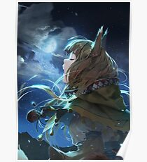 Horo the Wise Wolf Poster
