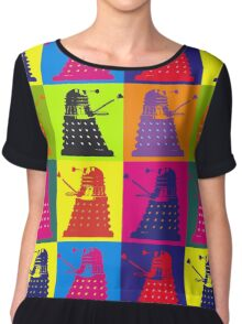 Exterminate Chiffon Top