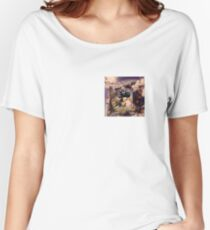 Draco the Dragon abstract in window Women's Relaxed Fit T-Shirt
