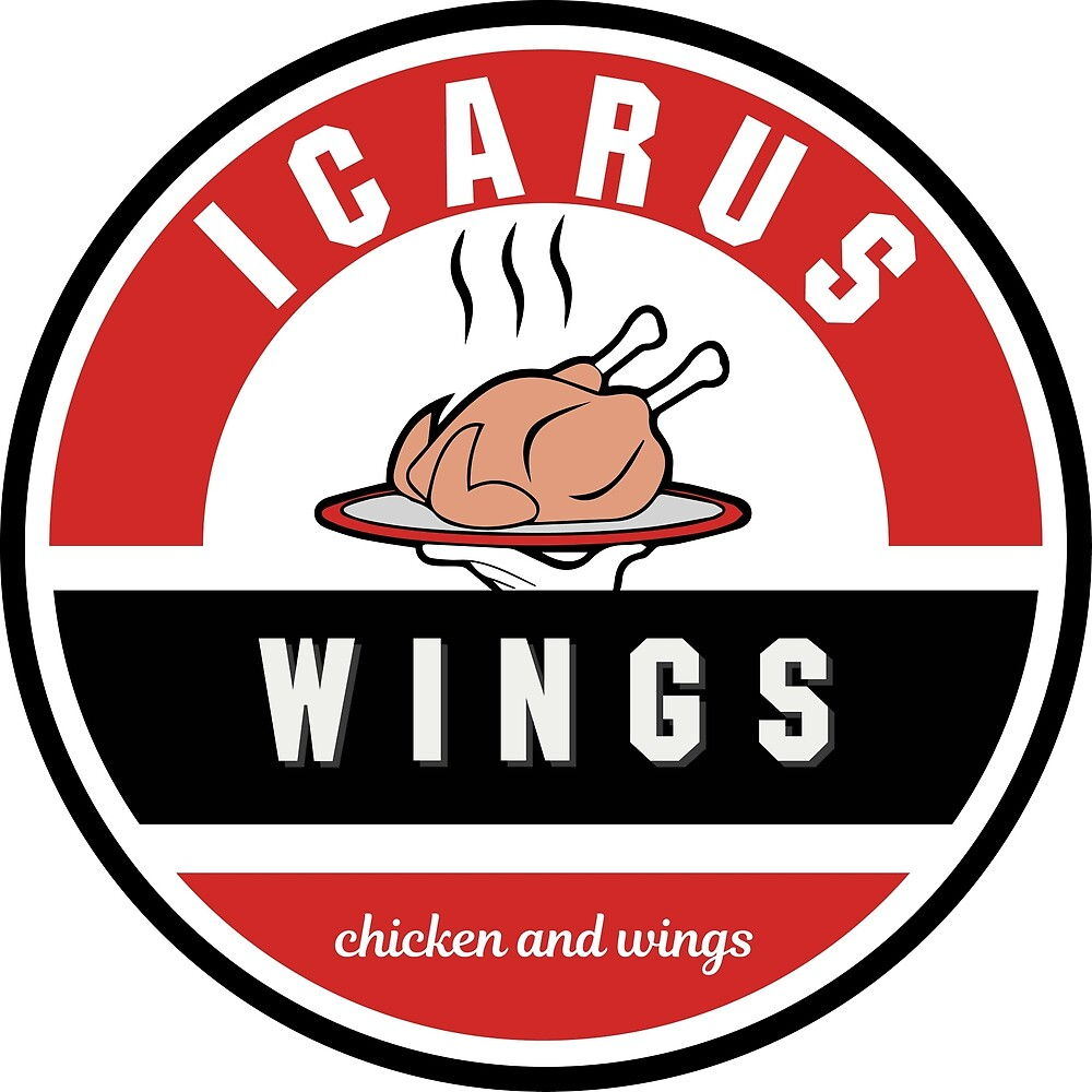 Alternative Icarus Wings Logo 2 by 636CateringandFT 636CateringandFoodTruck