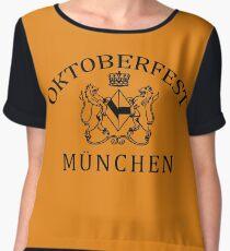 OKTOBERFEST MUNICH MUNCHEN Women's Chiffon Top