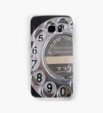 Vintage rotary phone Samsung Galaxy Case/Skin