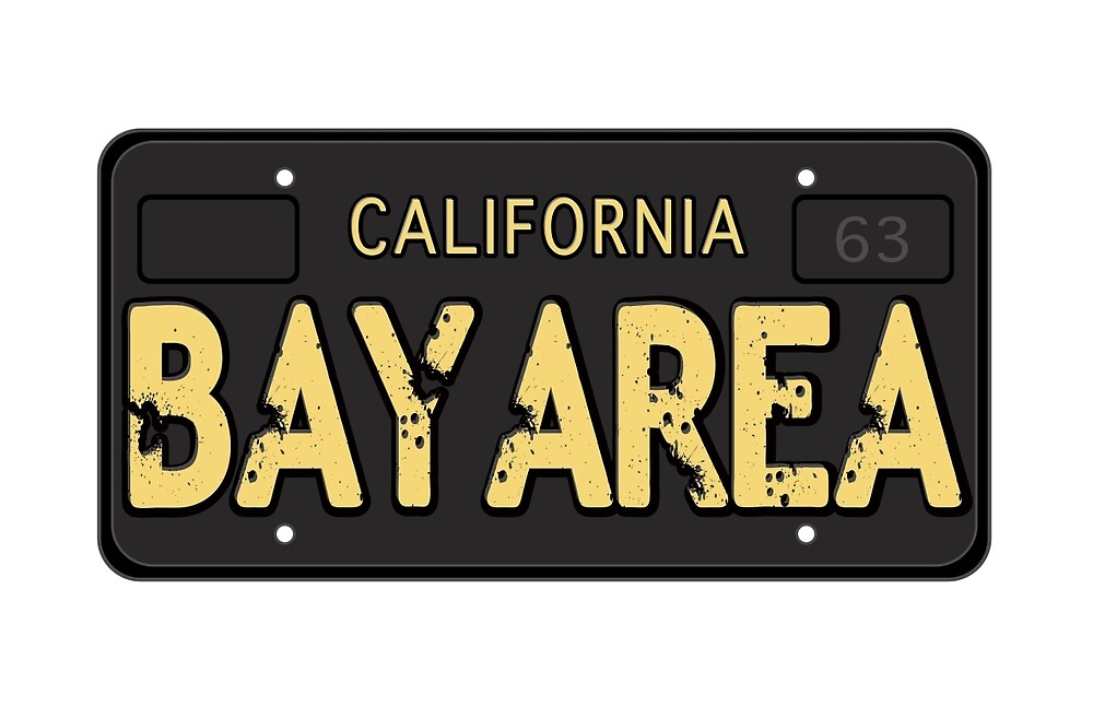Bay Area California Old School by LGdesigns