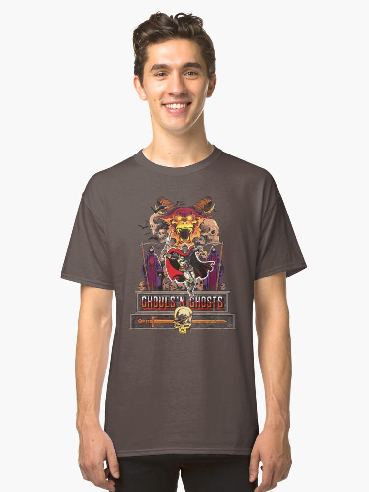 Ghouls 'n Ghosts Classic T-Shirt Front