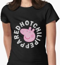 Red Hot Chili Peppa Womens Fitted T-Shirt
