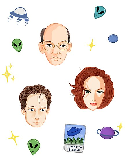 X Files - FBI Agents by arminvincible