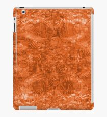 ironic chaos - (orange) iPad Case/Skin