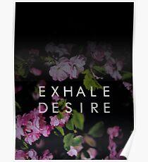 Exhale Desire  Poster