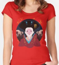 Robotic Geisha Women's Fitted Scoop T-Shirt