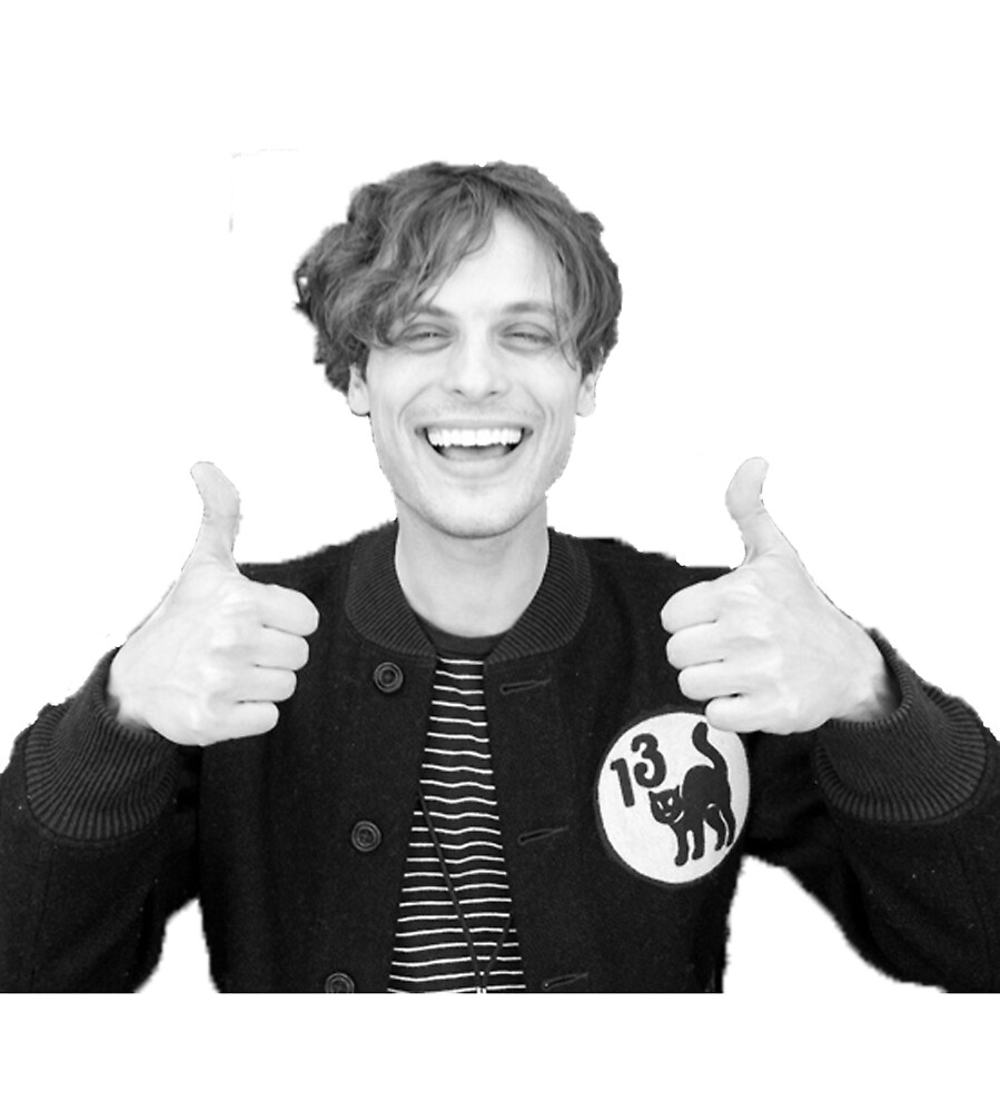 """good job"" - matthew grey gubler by jodilovesbucky"
