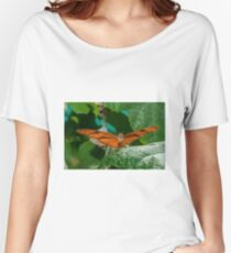 Julia Heliconian butterfly, (Dryas Iulia), Women's Relaxed Fit T-Shirt