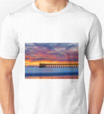 Bacara (Haskell's ) Beach and pier, Santa Barbara T-Shirt