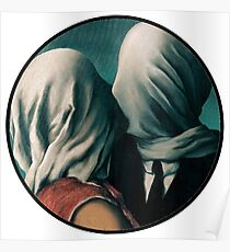 The Lovers Rene Magritte Poster